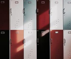 theme, locker, and vintage image