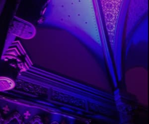 aesthetic, purple, and light image