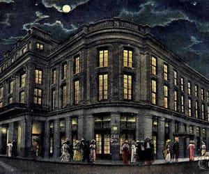 new orleans, vintage postcards, and vintage illustration image