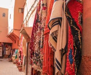 art, carpet, and marrakech image