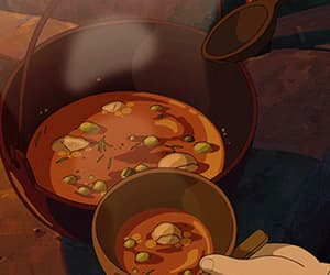 anime, cartoon, and autumn image