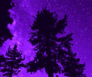aesthetic, gif, and purple image