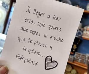 frases, te quiero, and leer image