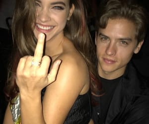 couple, barbara palvin, and dylan sprouse image