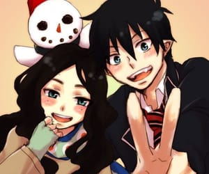 anime, ao no exorcist, and rin image