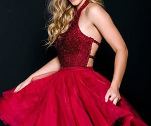 homecoming dress short, burgundy homecoming dress, and prom dresses sexy image