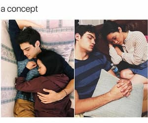 couple, movie, and noah centineo image