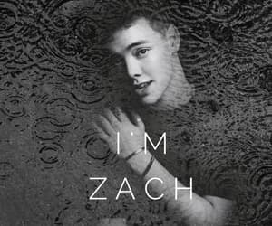 aesthetic, black, and zach image