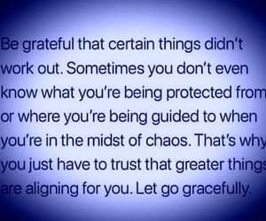 chaos, guidance, and let go image