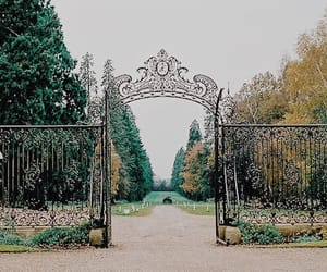 beautiful, gates, and nature image