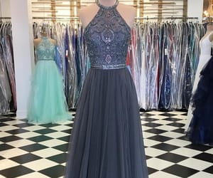 evening dress, prom dresses 2018, and fashion image