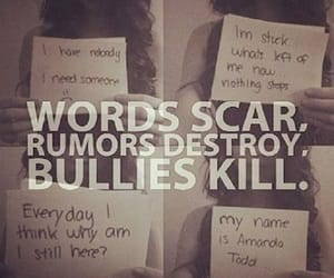 bullying and cyber bullying image