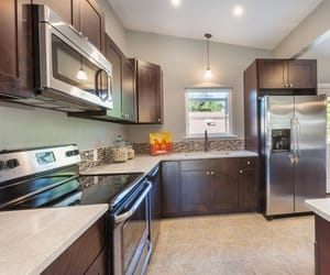 kitchen design, kitchen cabinets, and shaker kitchen cabinets image