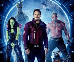 guardians of the galaxy, gamora, and groot image