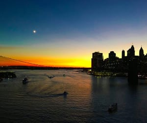 beautiful, newyork, and river image