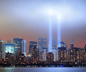 new york, twin towers, and 9 11 image