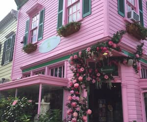 house, photography, and pink image