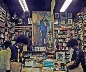 bookstore, harlem, and 70's image
