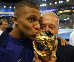 coupe du monde, deschamps, and mbappe image