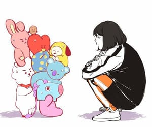 bts, kpop, and bt21 image