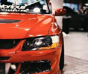 car, sports car, and mitsubishi image