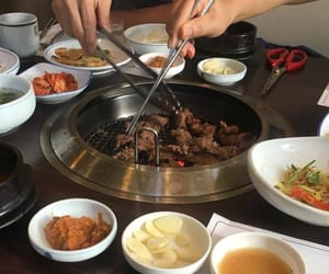 aesthetic, korean, and side dishes image