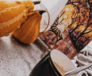 autumn, coffee, and morning image