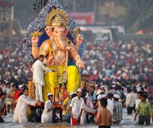 festival, Ganesh, and india image