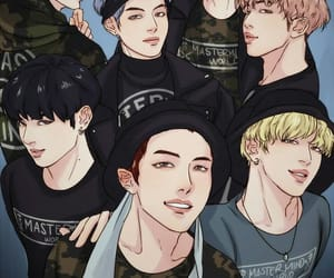 bts, fanart, and jimin image