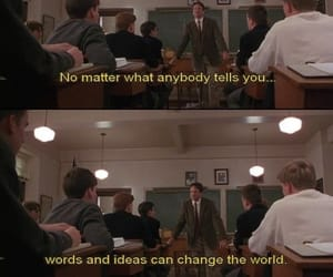 club, words, and dead poets society image