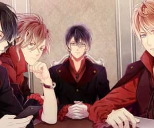 kino, diabolik lovers, and reiji sakamaki image