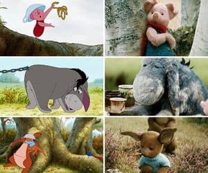 cartoon, eeyore, and film image