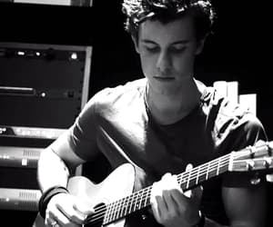 gif, shawn mendes, and black & white image