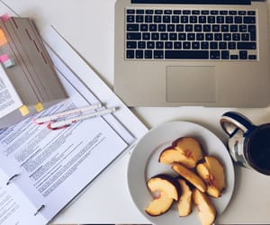 snack and studying image
