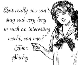 anne, quotes, and anne shirley image
