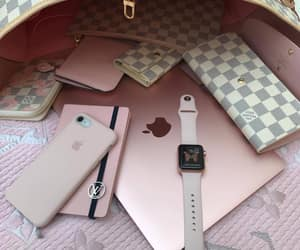 luxury, iphone, and pink image