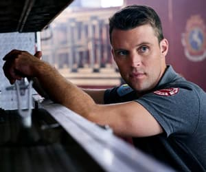 chicago fire, jesse spencer, and firehouse 51 image
