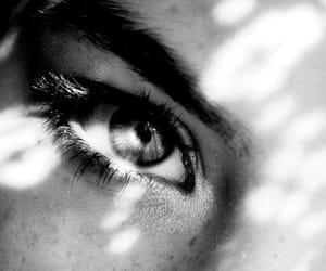 girl, eyes, and blue image