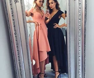 fashion, best friends, and dress image