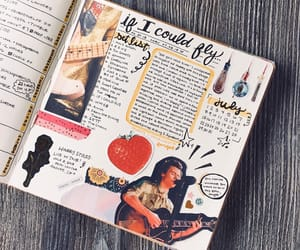 doodle, journaling, and lettering image