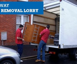 cardboard packing boxes and boxes for house moving image