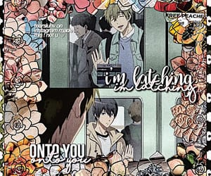 anime edit, makoharu, and edit inspo image