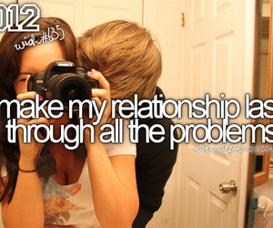 2012, couple, and problems image
