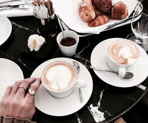 bakery, breakfast, and coffee image