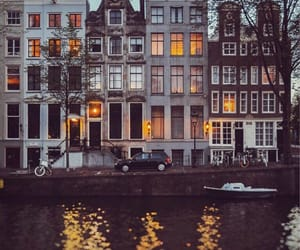 amsterdam, autumn, and bicycles image