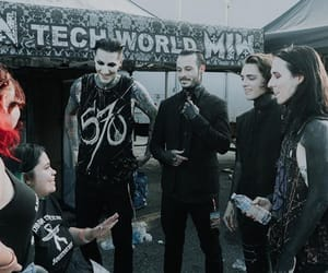 new, vans warped tour, and motionless in white image