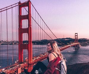 cities, girl, and travel image