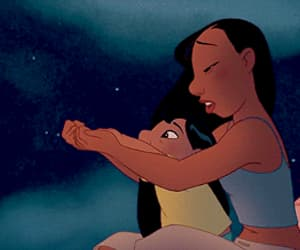 animation, lilo and stitch, and cute image