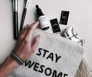 bag, essentials, and Brushes image