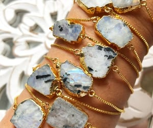 bracelet, crystals, and etsy image